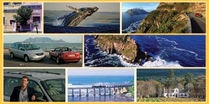 whales, Bopaap, cape point, winelands. See it all in luxury.