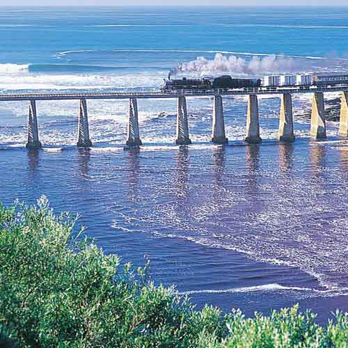 The Garden Route offers many unexpected views